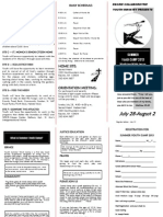 racine youth service week 2013 registration flyer