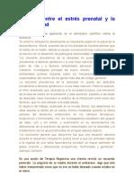 Relación entre el estrés prenatal y la obesidad b6-09