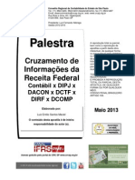 Cruzamento Informacoes Receita Federal Maciel 2705