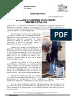22/11/11 Germán Tenorio Vasconcelos EXPONERSE A PLAGUICIDAS SIN PROTECCIÓN PUEDE SER MORTAL, SSO