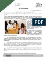 25/11/11 Germán Tenorio Vasconcelos TOMA ÁCIDO FÓLICO, NO TOMES RIESGOS, SSO