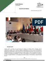 28/11/11 Germán Tenorio Vasconcelos PIE DE FOTO XIII REUNIÓN DE LA COMISIÓN PARLAMENTARIA MIXTA MÉXICO-UNION _0