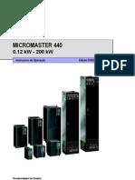 SIEMENS - Manual Micromaster 440