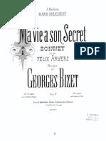 Georges Bizet - Ma vie a son secret
