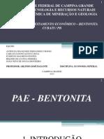 Plano de Aproveitamento Econômico - Bentonita