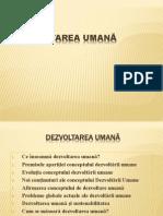 DEZVOLTAREA UMANA (1)
