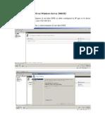 Configuración del DNS en Windows Server 2008 R2
