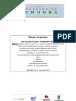 Dossier de prensa de la Red de Artes Visuales de Medellín
