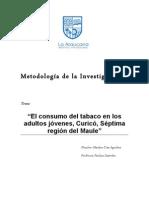 El Consumo Del Tabaco en Los Adultos Jovenes