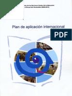 Decenio de Las Naciones Unidas de La Educacion Para El Desarrollo Sostenible (2005-2014)