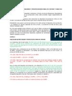Calculo de Alimentadores y Protecciones Para Un Motor y Para Un Grupo de Motores