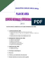 PLAN DE AREA DE CIENCIAS NATURALES Y EDUCACIÓN AMBIENTAL (1)