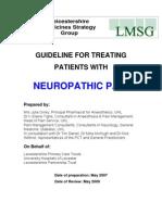 NeuropathicPain Algorithm Guideline200711
