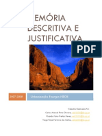 Memoria Descritiva e Justificativa BT