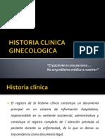 Historia Clinica Ginecologica