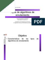 Algoritmos de Enrutamiento