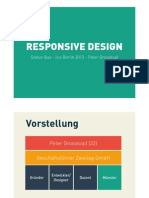 Responsive Design by Peter Grosskopf