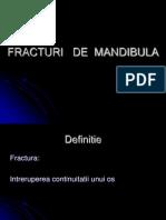 Fracturi de Mandibula Curs g.