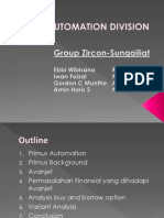 CASE 8 Primus Automation Division_Group 5