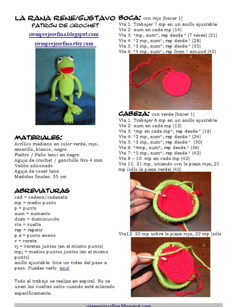 Piggy Angry Birds Amigurumi (patrón en español) | 1024x768