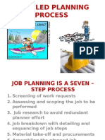 Detailed Planning Process