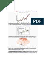 Articulo Sobre El Calentamiento gPara El