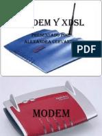 Modem y Xdsl Exposicion