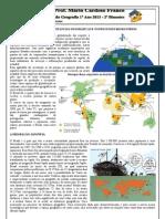 Resumão Geografia - 1º Ano 2013 - Prof. Álvaro Santos