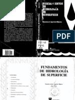 Fundamentos de Hidrologia de Superficie Aparicio Francisco