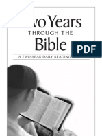 Two Years Through the Bible