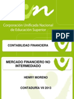 Mercado Financiero No Intermediado