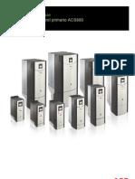 ACS880 Primary Control Program Firmware Manual (Es)
