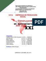 Empresas de Produccion Social