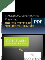 Oriflame vs Mary Kay