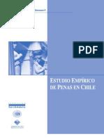 Estudio empírico de penas en Chile