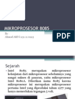 MIKROPROSESOR 8085