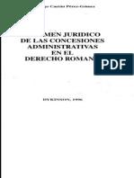 Concesiones en D Romano-Castán Pérez-Gómez