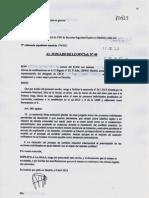 ESCRITO SINDICATO CSIF IMPUGNACIÓN  DESPIDO SECURITAS EN CONTRA DE LOS TRABAJADORES
