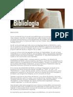BIBLIOLOGÍA