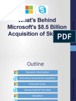 What's behind Microsoft & Skype Acquisition?