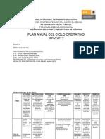 Plan Anual 2012-2013zona 14
