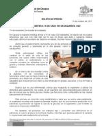 13/11/11 Germán Tenorio Vasconcelos ENFERMA DIABETES A 16 DE CADA 100 OAXAQUEÑOS, SSO