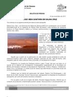 16/11/11 Germán Tenorio Vasconcelos decreta Sso Veda Sanitaria en Salina Cruz