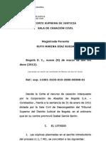 19. CSJ Civil, 9 de marzo de 2012, Ruth Marina Díaz Rueda, rad. 2006-00308-01, lucro cesante