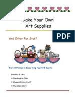 Crafts Make Own Art Supplies