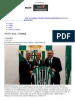 Real Betis Balompié homenaje