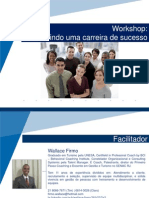 Apresentação workshop de carreira