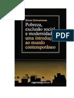 Pobreza, exclusão social e modernidade