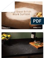 Kronosurface Worktop Brochure