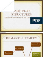 Basic Plot Structure and Literary Conventions of Detective Fiction